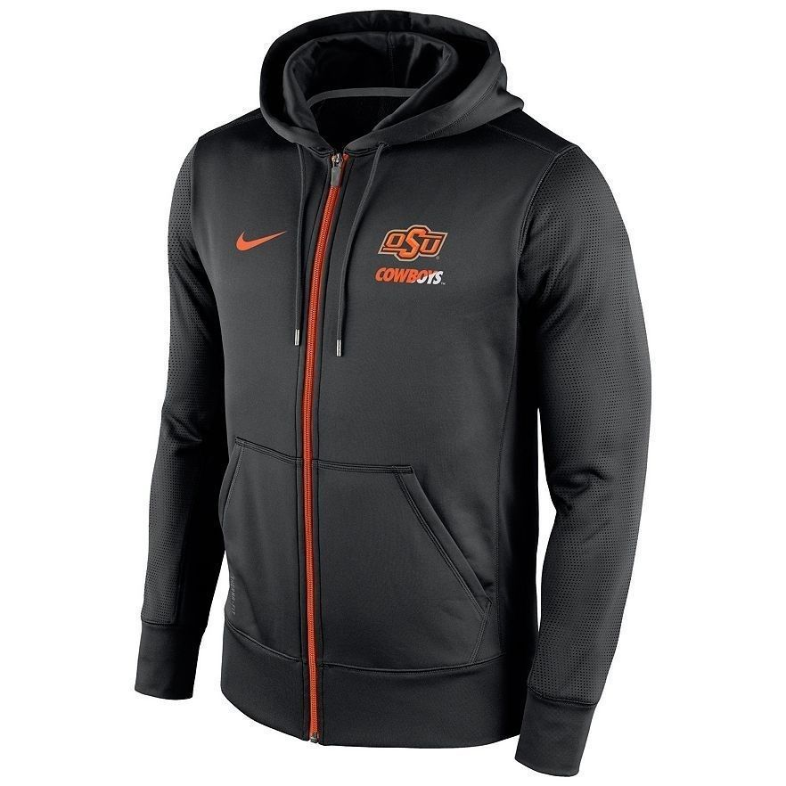 d0fdf4cda Nike Oklahoma State Cowboys Sideline Therma-FIT Full-Zip Hoodie small ADULT  NWT  Nike  ShirtsTops