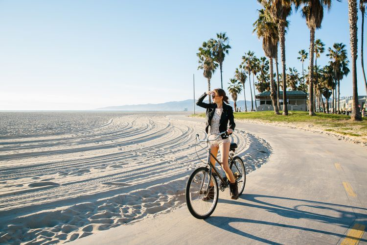 Explore miles of la and oc beaches with these bike rentals