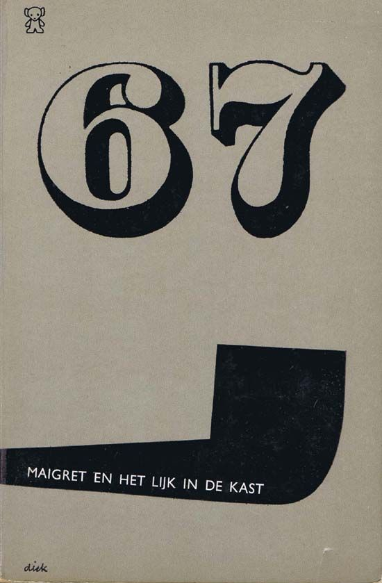 Maigret En Het Lijk In De Kast 1967 Dick Bruna 1967