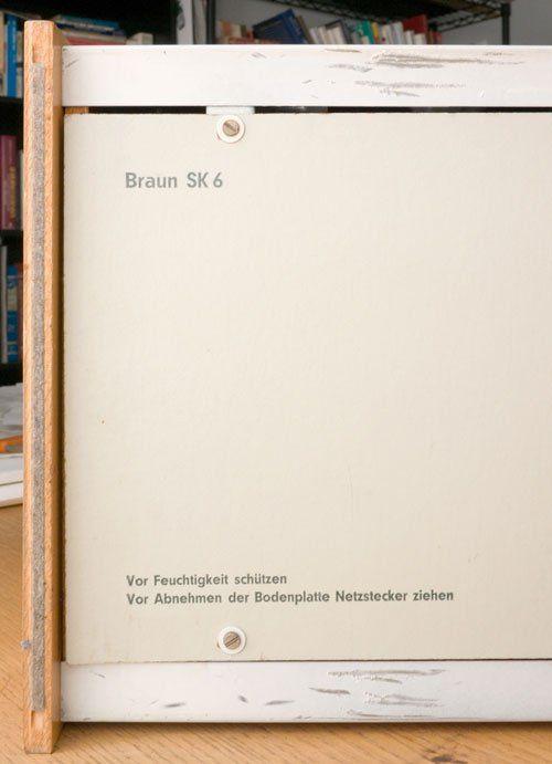 經典致敬 – 白雪公主的棺材 BRAUN SK 6 | ㄇㄞˋ點子靈感創意誌