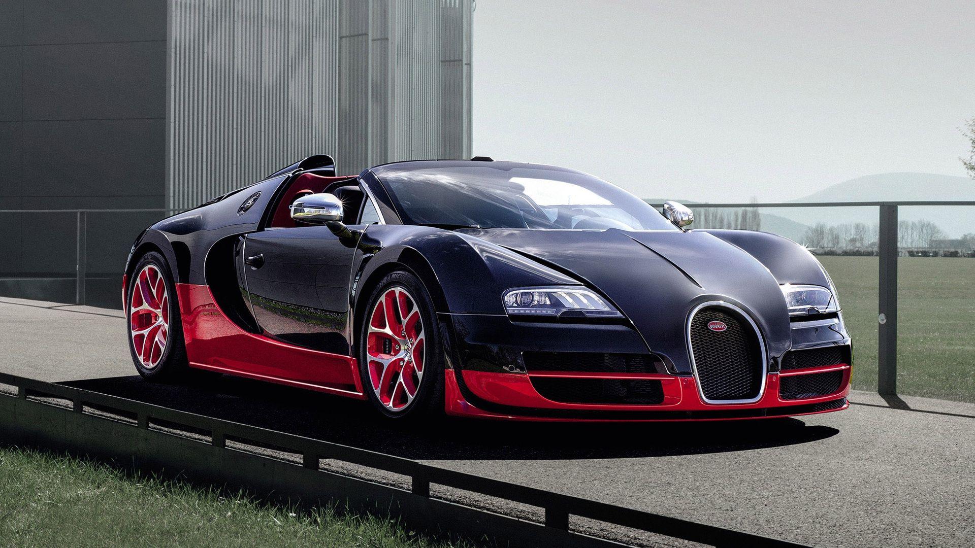 Bugatti Veyron Grand Sport Roadster Vitesse On Hd Wallpaper From