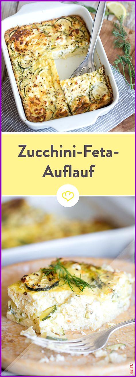 Auflauf mal anders Fluffiger Zucchini-Feta-Auflauf mit Dill Auflauf mal anders Fluffiger Zucchini-Fe...