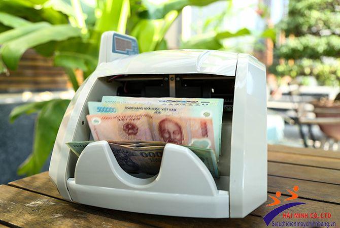 máy đếm tiền giá rẻ chính hãngSilicon MC-8600