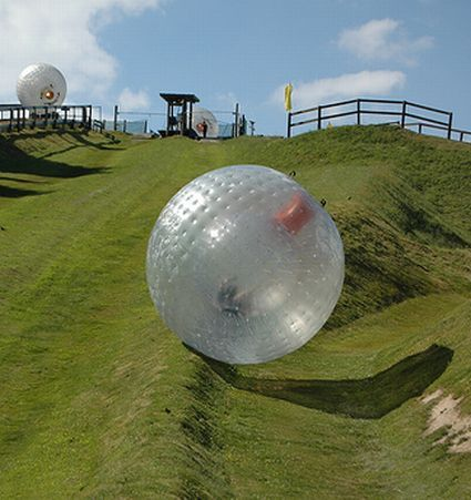 Why have I not done this!! Zorbing in New Zealand