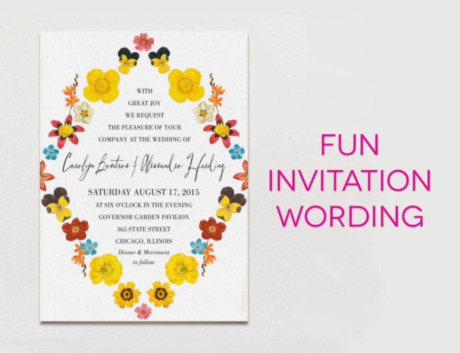 Pin Di Wedding Invitations Ideas