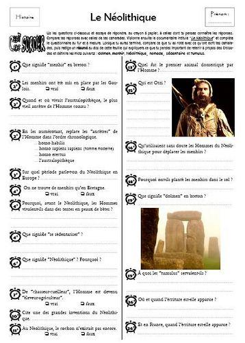 C Est Pas Sorcier La Prehistoire : sorcier, prehistoire, C'est, Sorcier…, Cours, Histoire,, Chronologie, Histoire, France,, Préhistoire