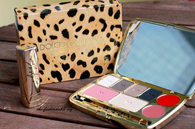 D G Beauty Voyage Palette Dolce And Gabbana Beauty Blog Websites