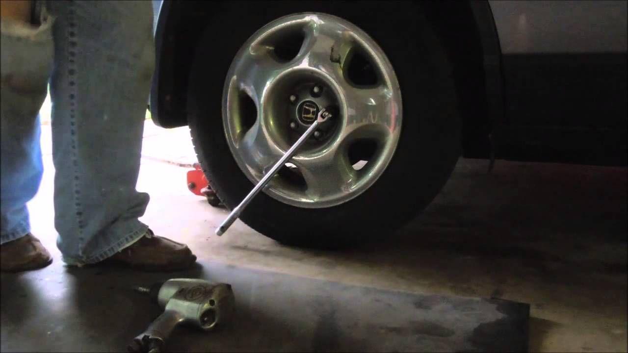Surviving In The Suburbs   Changing Honda CRV Brake Pads   Video Tutoria.