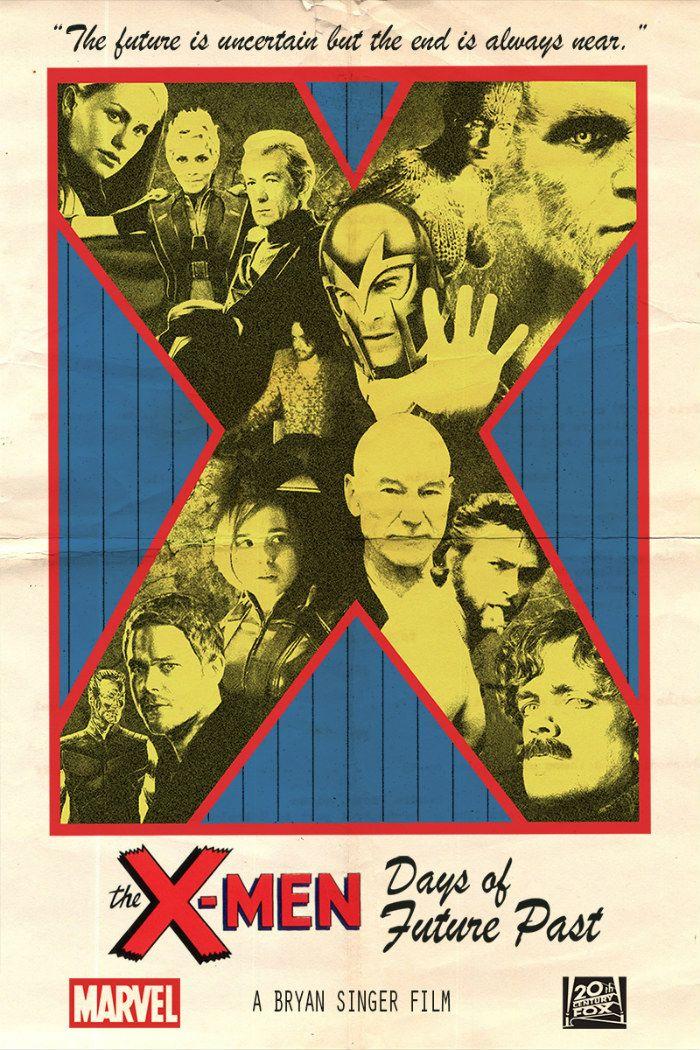x-men-days-of-future-past-image-poster | Comics | Pinterest | Future ...