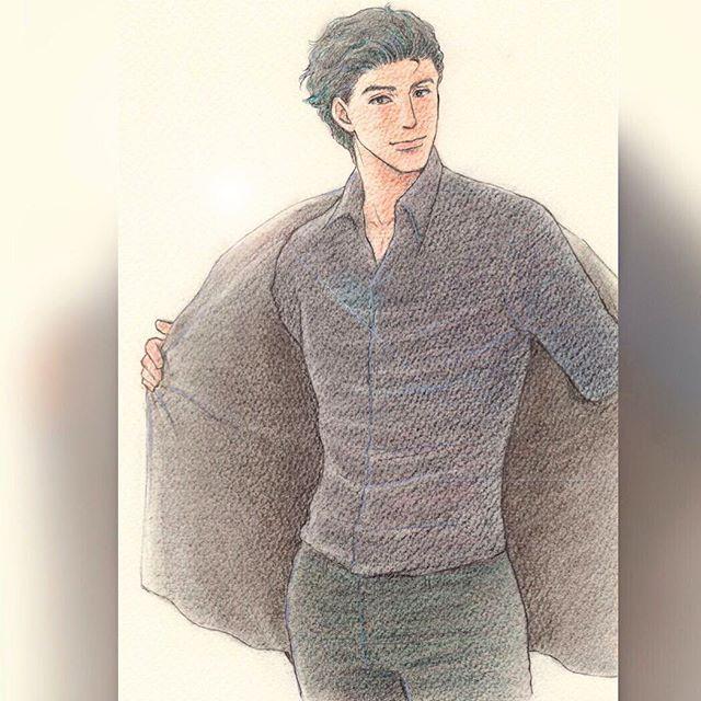 「今日泊まっていいかな」  他、好きなセリフをアテレコして 下さい(*^^*) #イラスト #illustration  #drawing #男性 #もと #もとp #くつろぐ fukudamotoko 2016/08/18 20:35:12