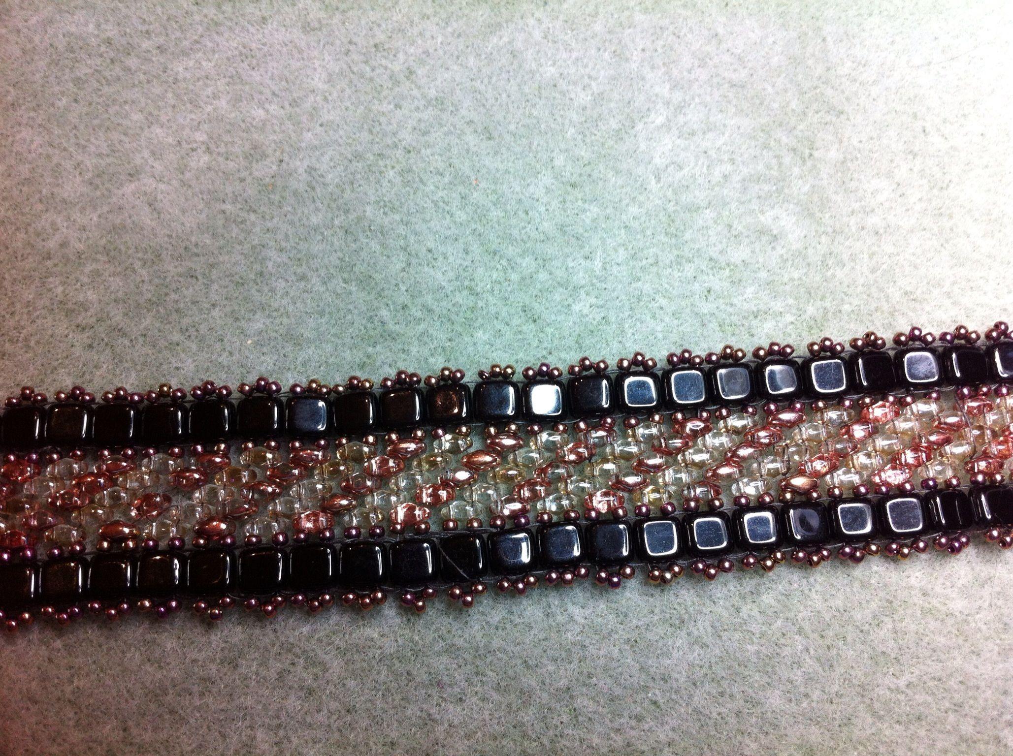 Bracelet in the Art Deco style