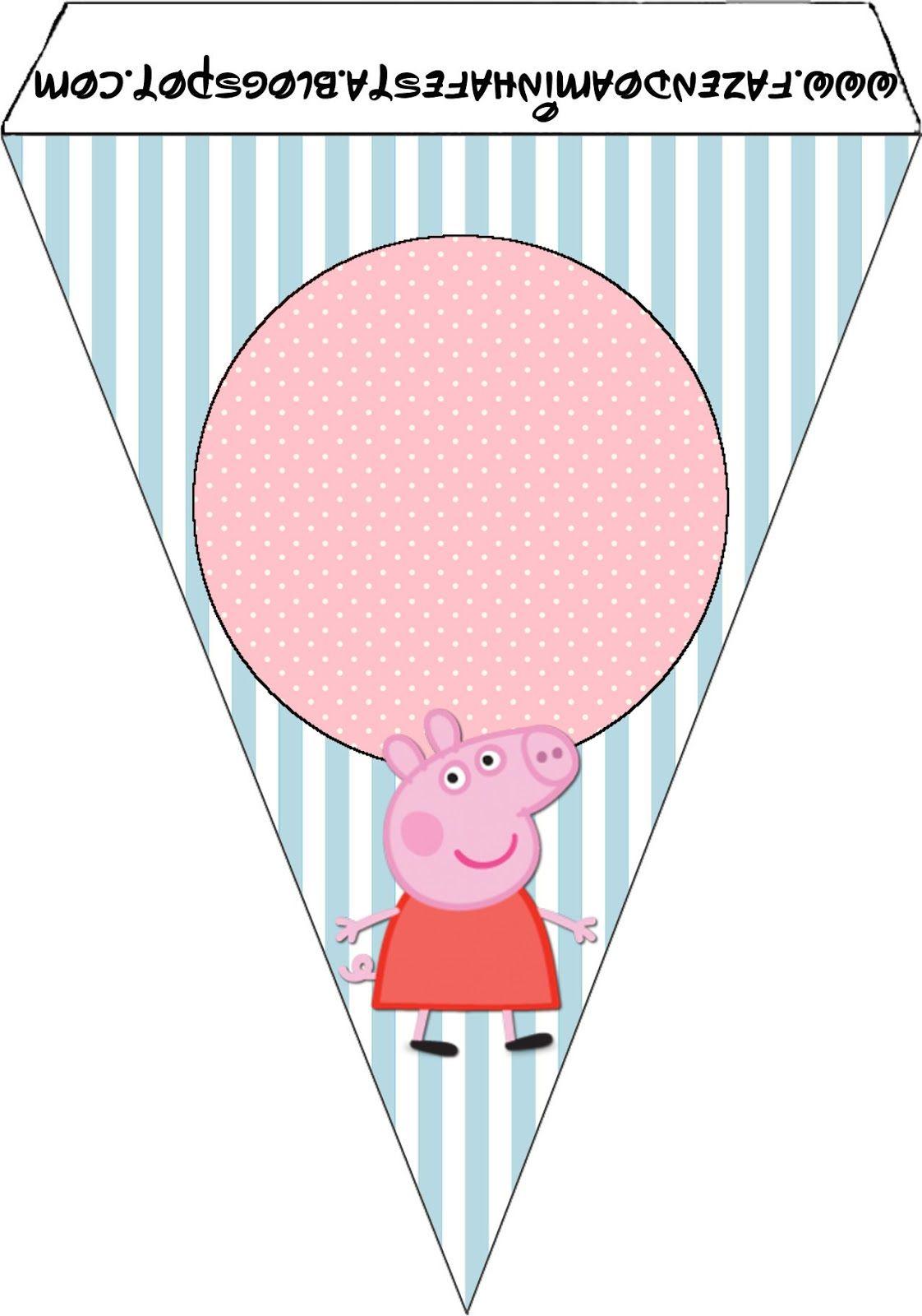 Peppa Pig Tarjeteria Para Imprimir Gratis