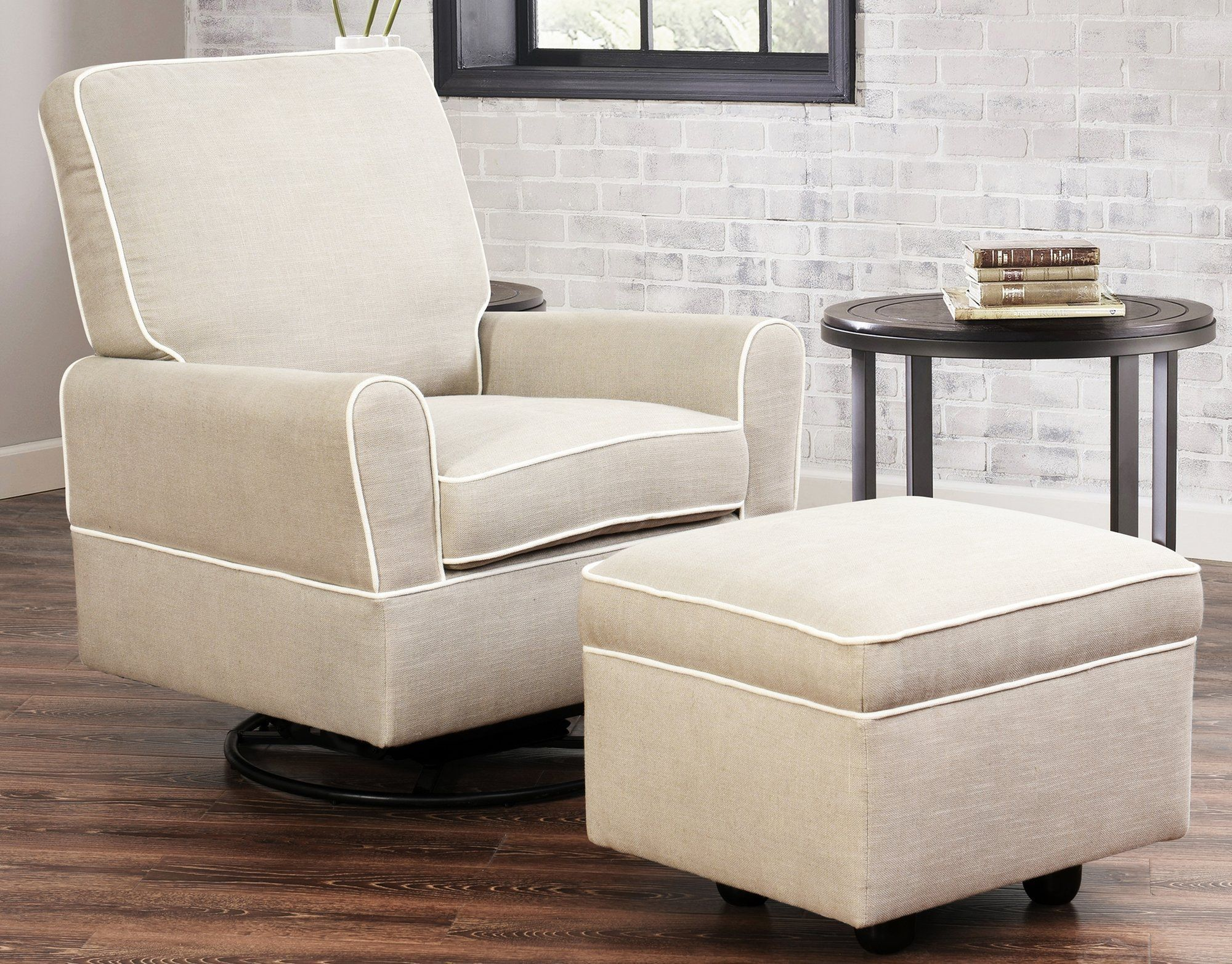 Shelbyville Swivel Glider Recliner and Ottoman | Kids Furniture ...