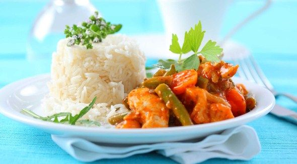 Red curry chicken / Punainen broilericurry, resepti – Ruoka.fi