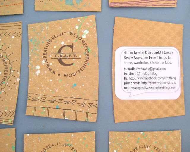 Coffee Sleeve Business Cards C R A F T Craft Business Cards Printing Business Cards Diy Business Cards