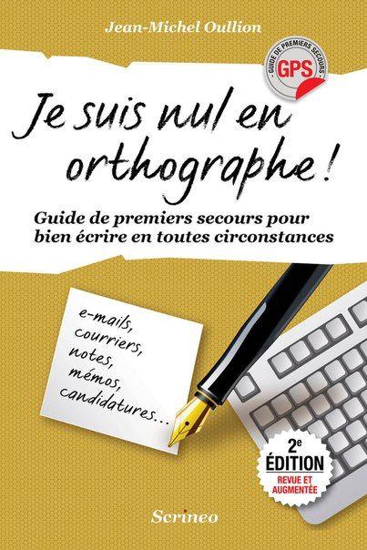Telecharger Je Suis Nul En Orthographe Pdf Cours Anglais