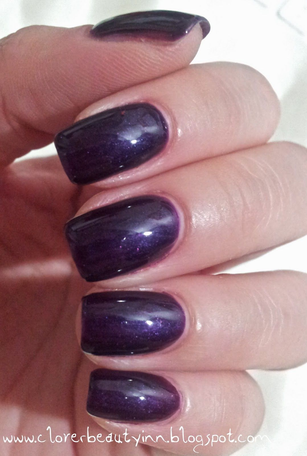 gelish nails | like my new Gelish color! And my new nail shape ...