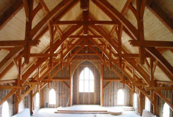 Glulam Wooden Truss Lamella Cnc Timber Frame Construction Timber Frame Barn Timber Frame Building