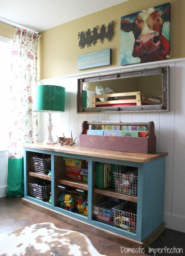 Superb Sliding Door Media Center. Toy StorageKid ...