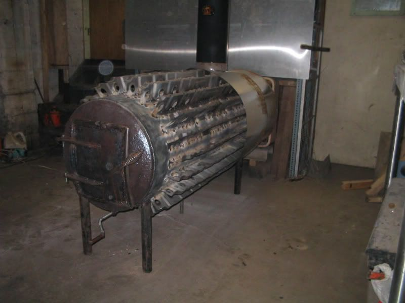 Steel building shop/garage heating suggestions (wood burning stoves forum  at permies) - Steel Building Shop/garage Heating Suggestions (wood Burning