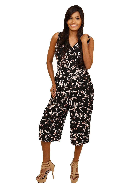 IKON Little Miss Floral Jumpsuit   Floral jumpsuit, Womens fashion ...