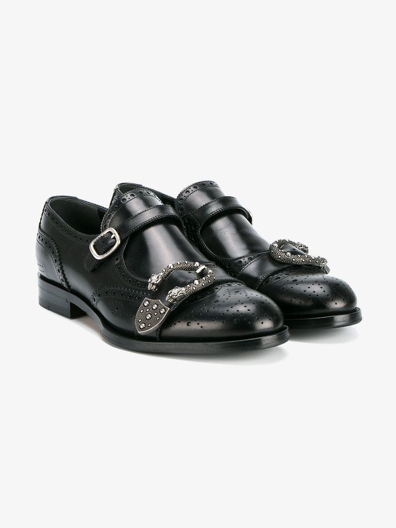 3904401a5 GUCCI QUEERCORE BROGUE MONK SHOES. #gucci #shoes #flats Gucci Shoes, Men's