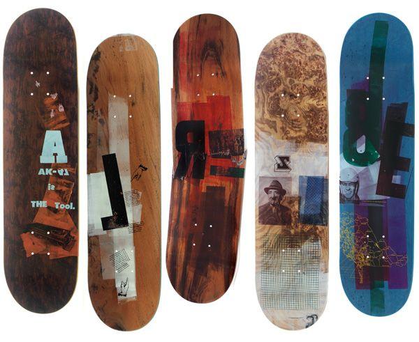 Letterpress Rap Lyrics Skateboards Detail Beautiful