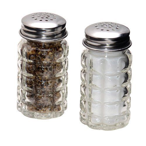 Vintage Retro Salt And Pepper Shaker Set Restaurant 1950 S