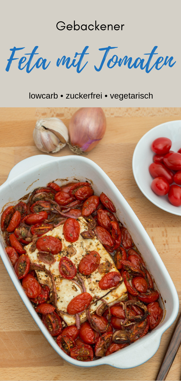 Photo of Baked feta with tomatoes from the oven