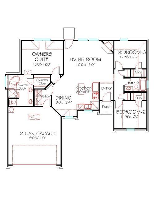 Plan 1387 193 House Plans New House Plans Barndominium Floor Plans