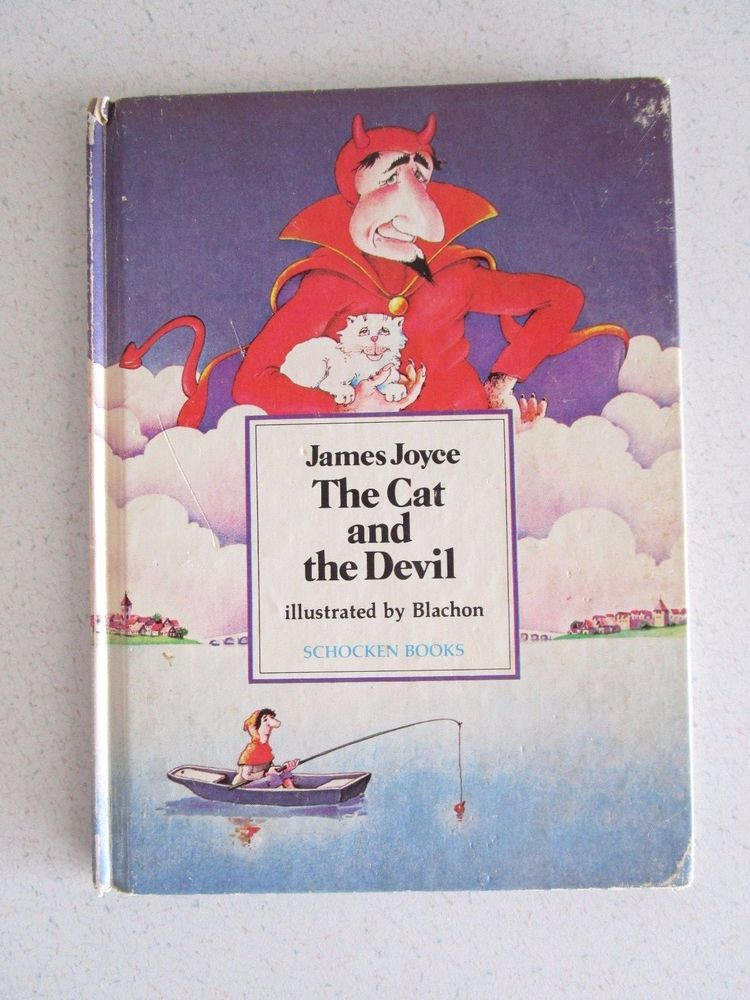 1981 1st Am Ed Cat and The Devil by James Joyce Ulysses Fairy Tale Ages 4-8 Eng