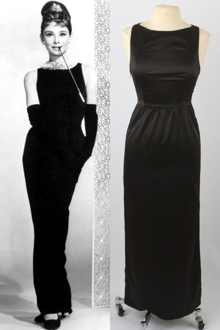 f66d0cda70e7 Audrey Hepburn - Breakfast at Tiffany's Black Dress - Premium Edition
