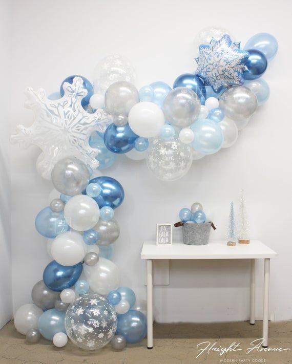 Weihnachtsballon Garland Kit | Kommt mit ALLEM, was Sie erstellen und anzeigen müssen! Perfekt für Urlaub & Winter Wonderland Themen   – MOM'S 85TH BIRTHDAY PARTY IDEAS