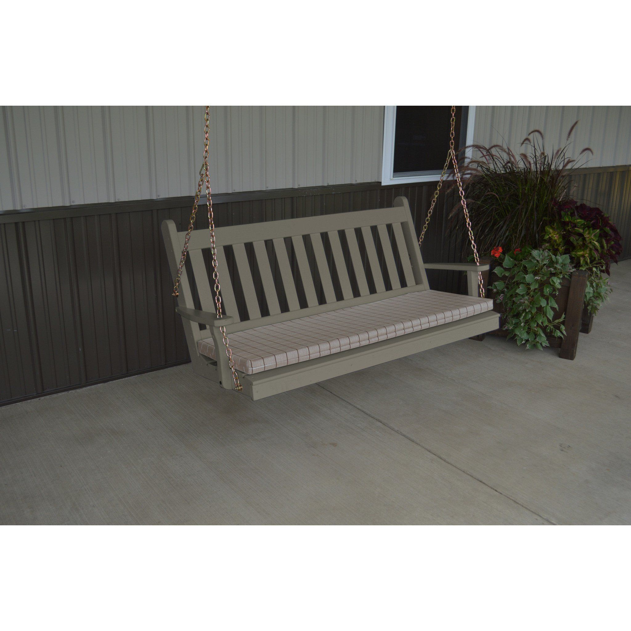 Sleeping Porch Furniture. A \u0026 L Furniture Traditional English Yellow  Pine 5ft. Porch
