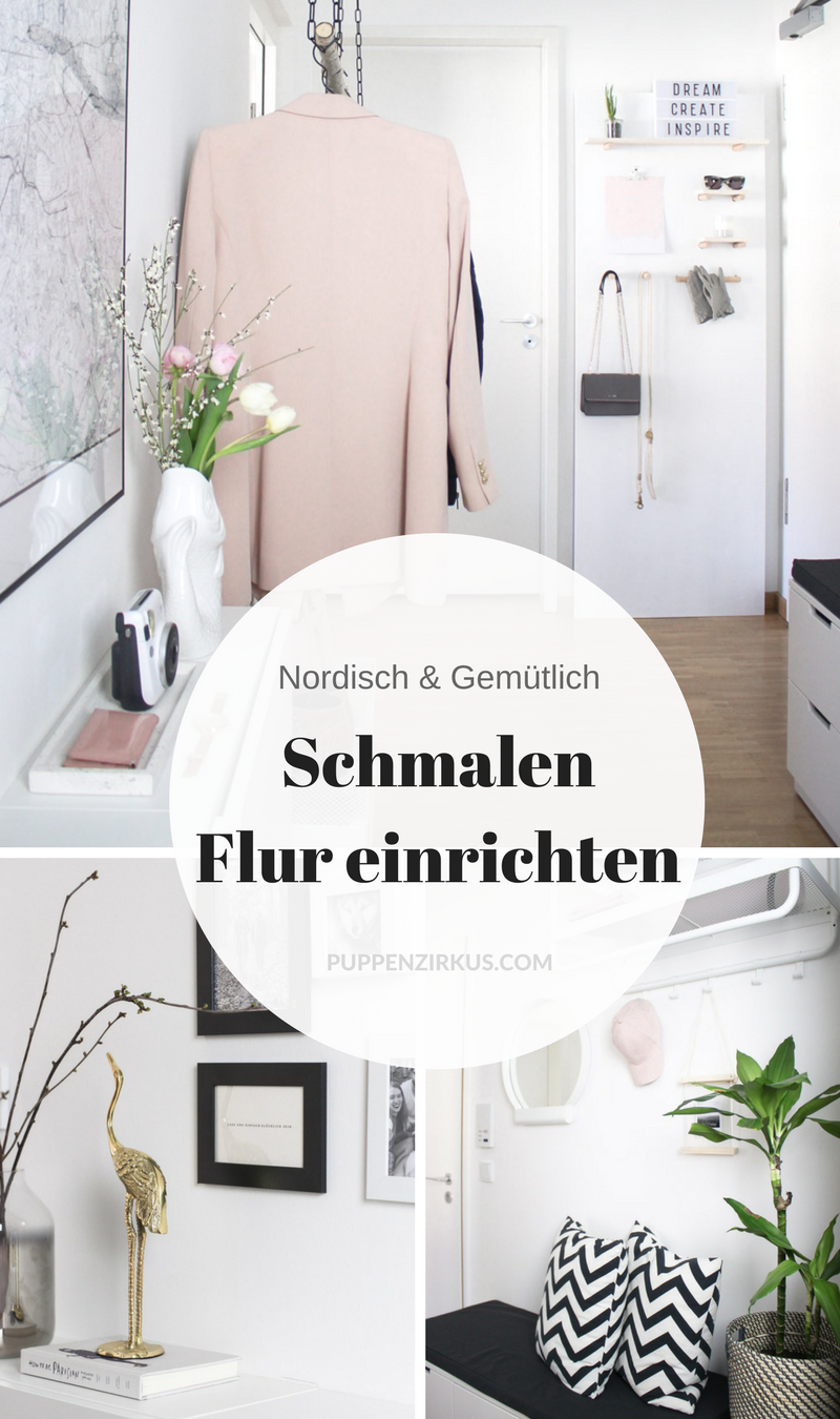 so gestaltest du einen schmalen flur gem tlich praktisch german blogger interior. Black Bedroom Furniture Sets. Home Design Ideas
