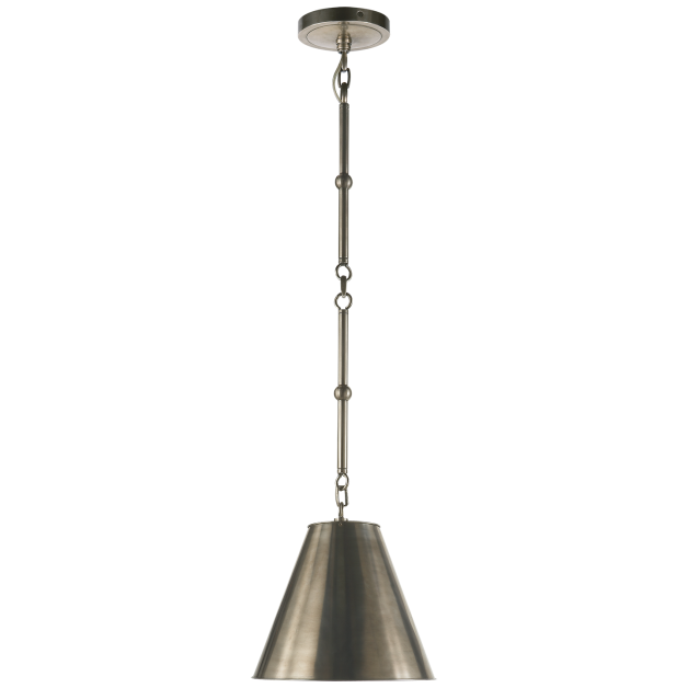 Inside is brass lining comes in other outer finishes circa lighting goodman petite hanging