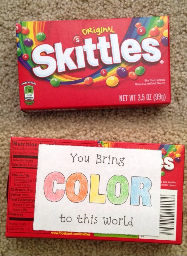 Skittles gifts