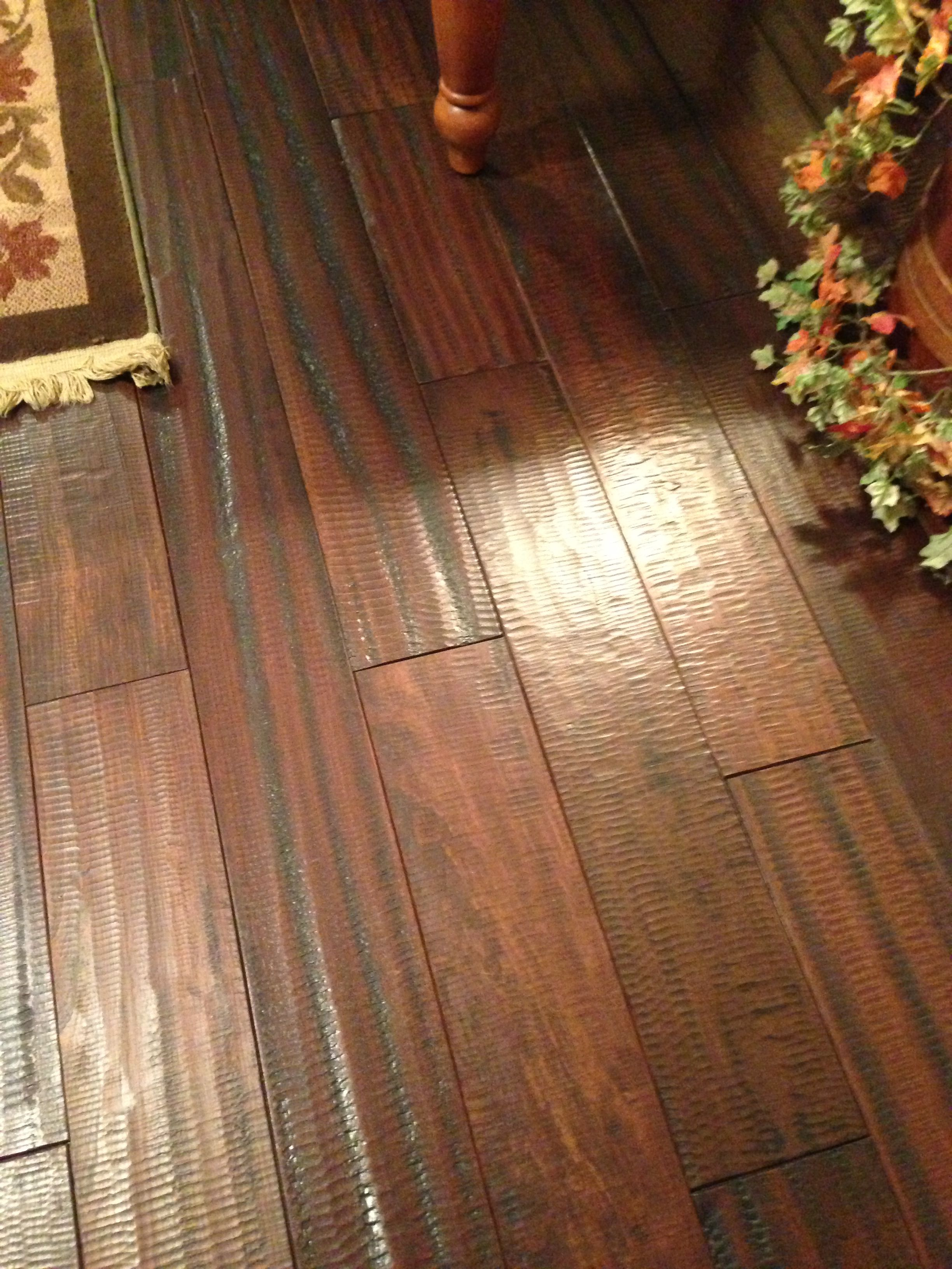 image brazilian cherry handscraped hardwood flooring. Our Camelot Textured Brazilian Cherry Hardwood Flooring In This Project Was Selected For Straight Grain And Treated With Chemical Process To Provide A Image Handscraped M