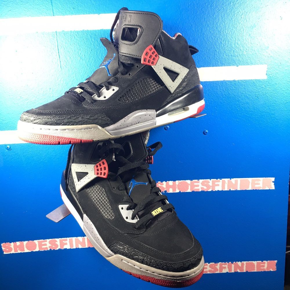 finest selection 6a4a5 200bb Nike Mens Jordan Spizike Black Size 12 #fashion #clothing ...