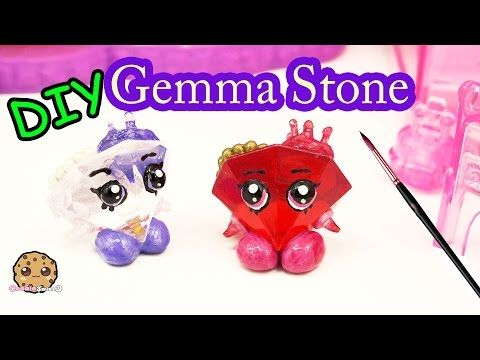 Diy green gemma stone custom shopkins do it yourself craft diy green gemma stone custom shopkins do it yourself craft cookieswirlc video youtube solutioingenieria Gallery