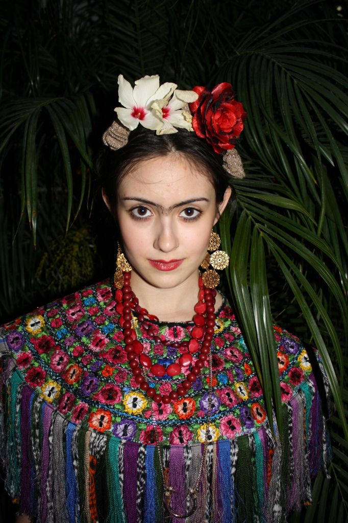 My Frida Kahlo costume on my blog thelioninjewels.com