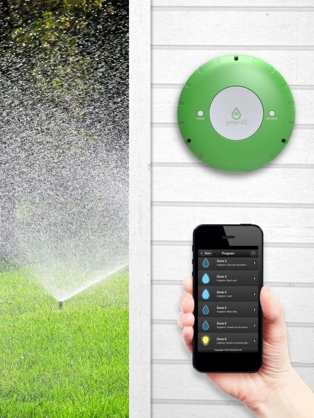 Smart Garden The Grassroots Movement Smart Home Technology Smart Garden Sprinkler Controller Irrigation Controller