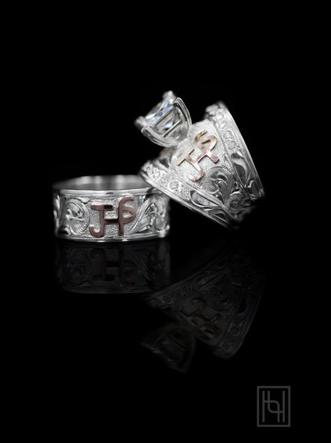 Romance Forever Ring Set Say I Love You With This Stunning His And Her By Hyo Silver Start Your Custom Order Today