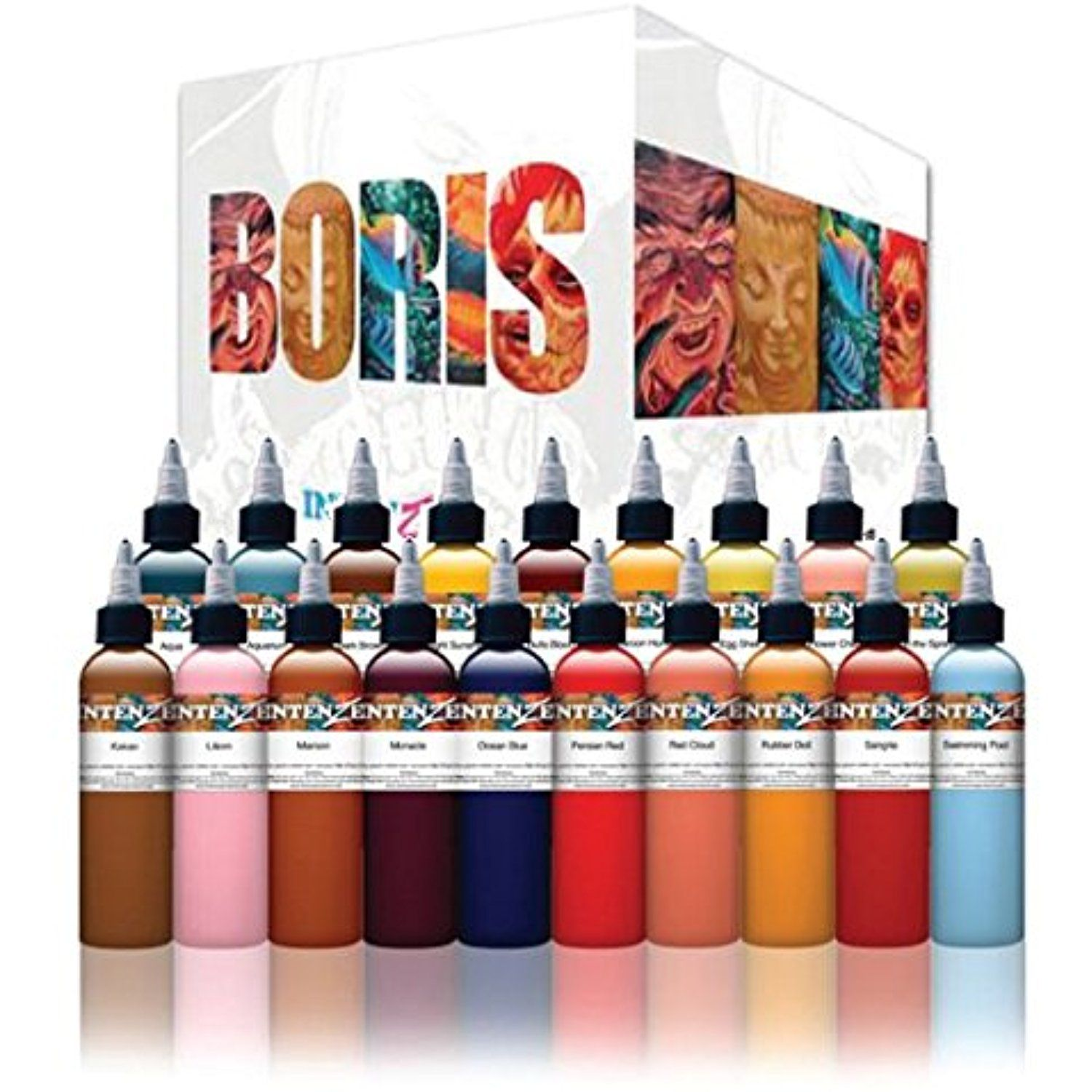 Authentic Intenze Boris From Hungary Specialty Ink 1oz