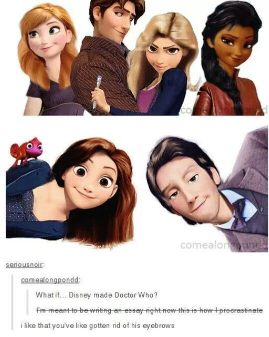 Disney version of Doctor Who