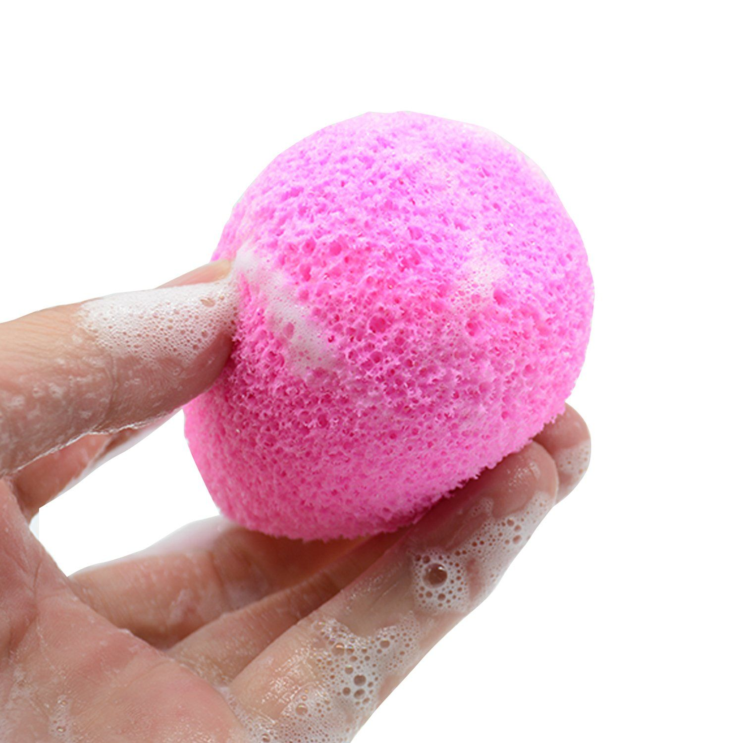 COLOR CLEANER Miracle Cleansing Sponges Facial For Makeup