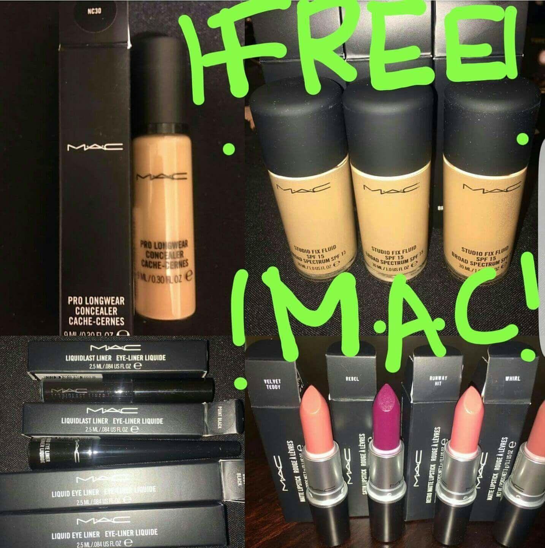 FREE M.A.C MAKEUP!!! Free makeup, Makeup, Lipstick
