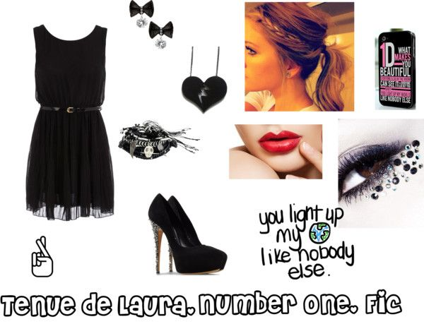 """""""Tenue Laura. Fiction"""" by julie-oreo-de-niall on Polyvore"""