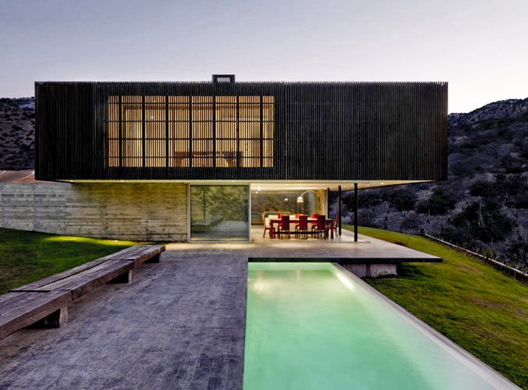 This collection features lesser known Chilean practices that are designing stunning contemporary buildings in their native country.