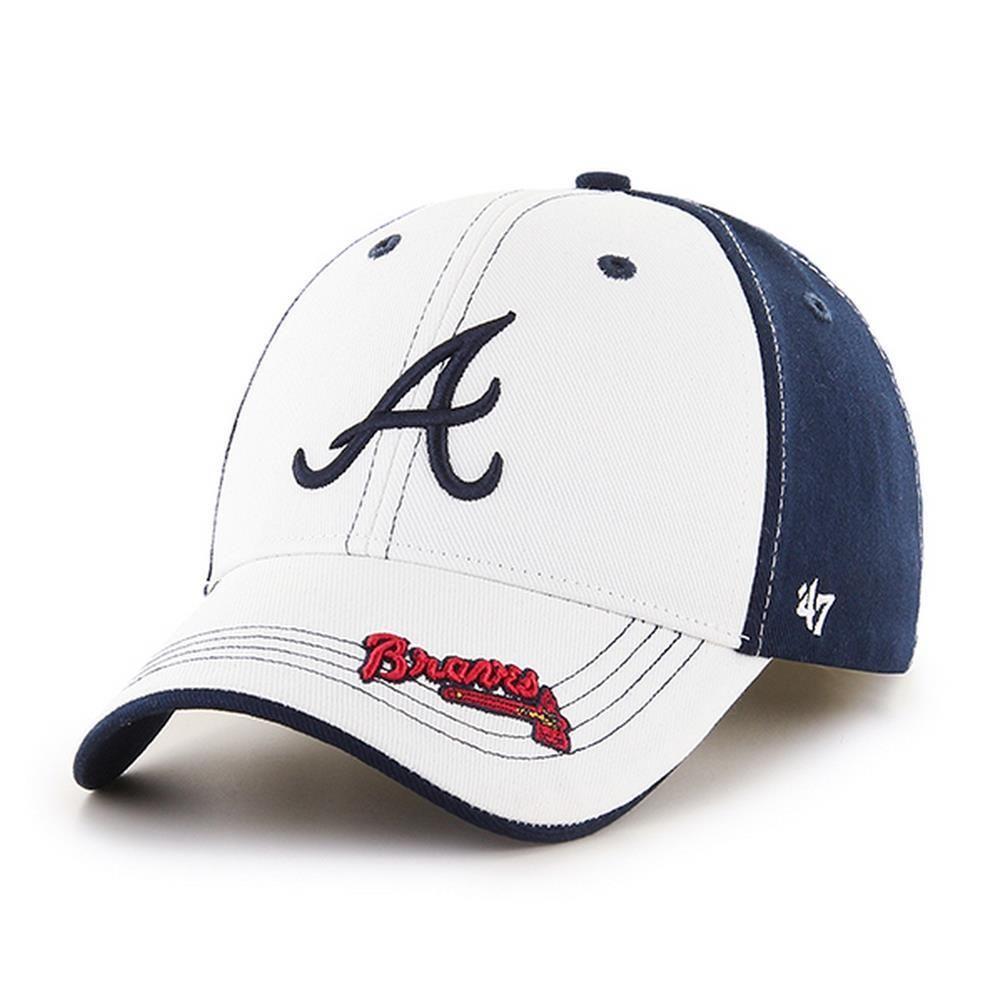 Youth Atlanta Braves Adjustable Structured Fit Hat Atlanta Braves Adjustable Hat